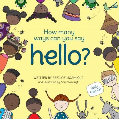 Cover art for 'How Many Ways Can You Say Hello' by Refiloe Moahloli